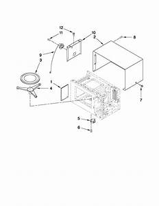 Kitchenaid Kcms2055sss2 Countertop Microwave Parts
