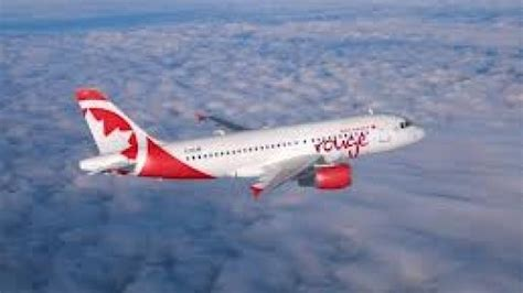 Air Canada's Rouge Makes Inaugural Flight To Kingston