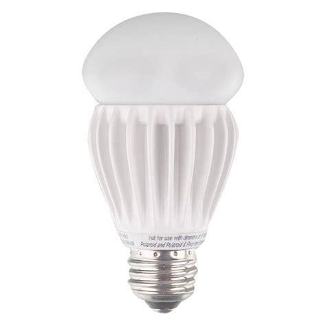 non dimmable led lights polaroid lighting 60w equivalent bright white 3000k a19
