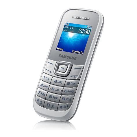 mobile simple samsung e1200 basic simple mobile phone white sim free