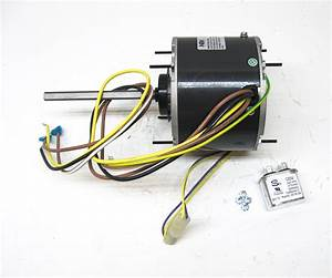 Ac Air Conditioner Condenser Fan Motor 1  4 Hp 1075 Rpm 230