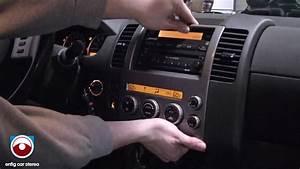 2005 Nissan Pathfinder Radio Removal