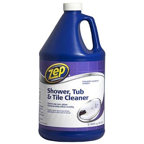 zep shower tub tile cleaner 1 gal model zustt128