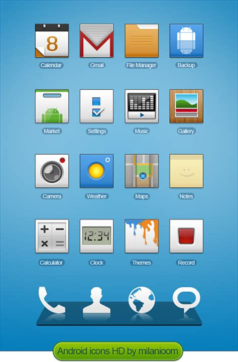icons for android phones top 15 free and high quality icon sets for android