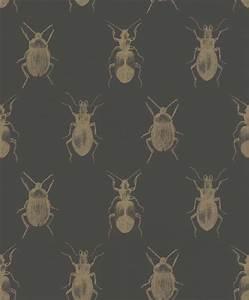 Schwarz Gold Tapete : tapete k fer insekt schwarz gold glanz rasch textil 289519 ~ Yasmunasinghe.com Haus und Dekorationen