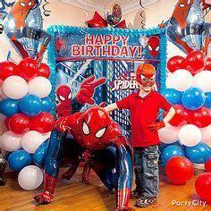 spiderman bday party  pinterest superhero party