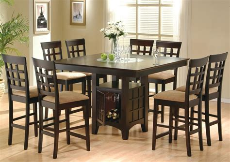 Bar Height Dining Room Table Sets 9 Dining Room Set Table Counter Height Lazy Susan Ebay