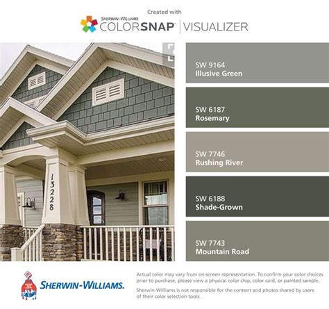 i found these colors with colorsnap 174 visualizer for iphone by sherwin williams illusive green