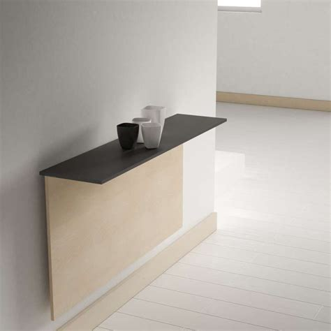 table cuisine rabattable murale table pliante murale contemporaine click 4 pieds