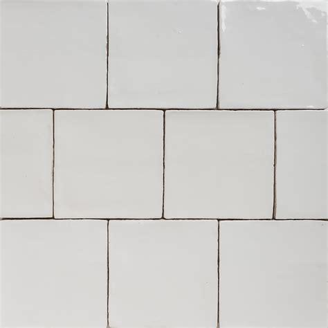 handmade natura gloss white tiles 130 215 130 eco tile factory