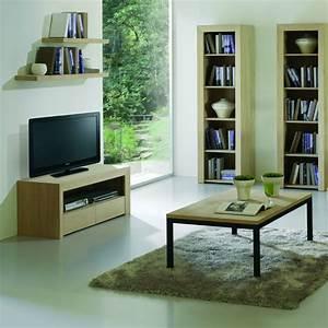 Meuble Tele En Bois : meuble tv design en bois brin d 39 ouest ~ Melissatoandfro.com Idées de Décoration