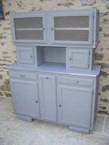 relooking buffet des annees 30 meubles relookes par With deco cuisine pour meuble vitrine