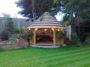 Beautiful African Gazebos Home Design, Garden