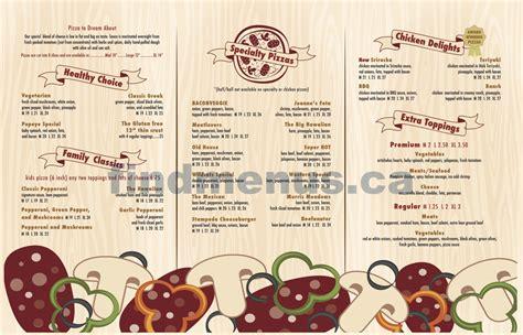 pantry pizza menu jeannes pizza pantry menu 2015 2 calgary find menus ca