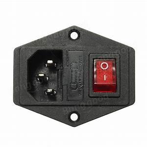 Steckdose Mit Sicherung : 220v 110v 5a steckdose mit schalter und 6a sicherung f r ~ Kayakingforconservation.com Haus und Dekorationen