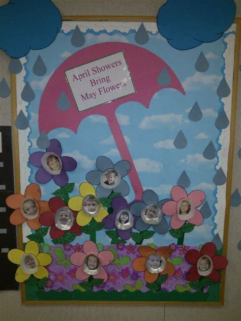 april showers bring may flowers bulletin board ideas april bulletin board learning for