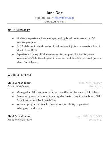 What To Put On A Babysitting Resume by What To Put On A Babysitting Resume Resume Ideas