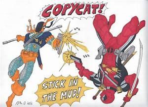 Deathstroke vs Deadpool by RobertMacQuarrie1 on DeviantArt