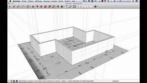 Logiciel Plan Maison Sketchup : sketchup mod liser d 39 apr s plan 2d youtube ~ Premium-room.com Idées de Décoration