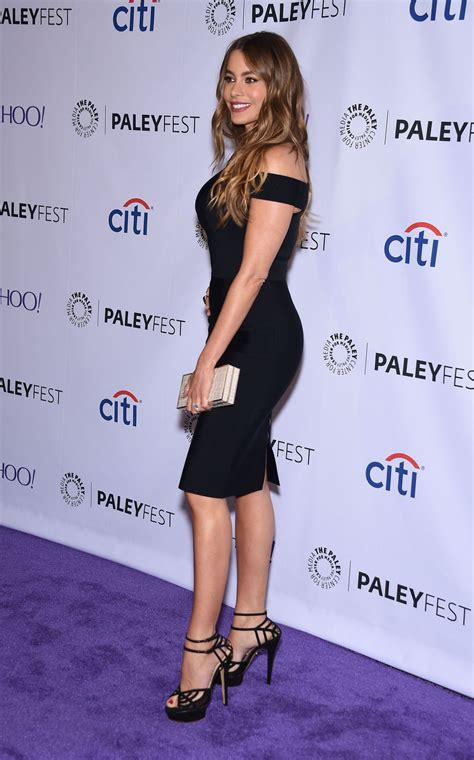 sofia vergara at modern family event for paleyfest in hawtcelebs hawtcelebs