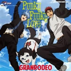 anime basket samehadaku ost opening kuroko no basket punky funky samehadaku