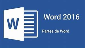 Partes De Word 2016
