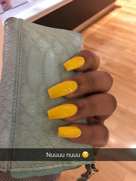 pinterest atcurlylexa yellow nails nail designs pretty