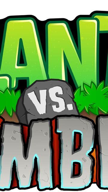 plants  zombie logo wallpaper hdpng desktop background