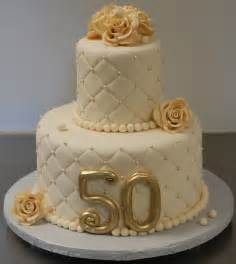 fiftieth wedding anniversary gold and 50th anniversary cake decoration idea