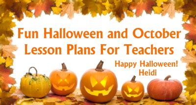 Halloween Lesson Plans For 1st Graders  1000 Images About Halloween Language Arts Ideas On