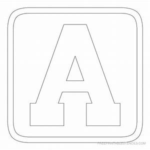 3 inch block letter stencils printable best photos of for 3 inch stencil letters free