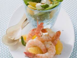 Spinat Und Feta : krabbensalat mit orangen spinat und feta rezept eat smarter ~ Lizthompson.info Haus und Dekorationen