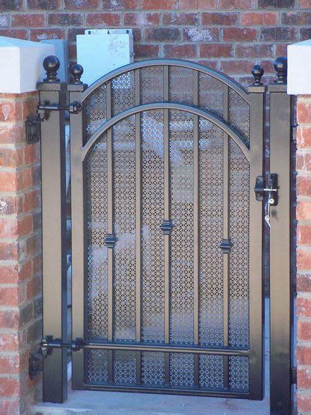 garden courtyard wine cellar gates gainesville iron works privacy gates