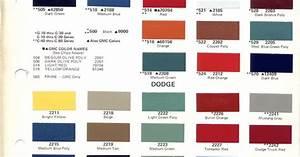 1970 Chevrolet Truck Paint Codes