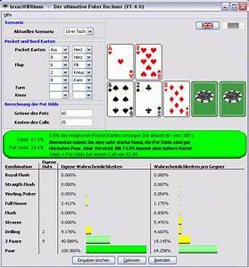 Relatives Risiko Berechnen : texas hold 39 em odds calculator ~ Themetempest.com Abrechnung