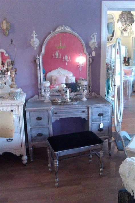 omg shabby chic vanity desk antique