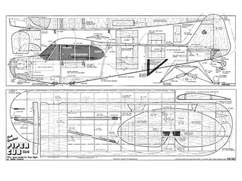 piper cub plan   outerzone