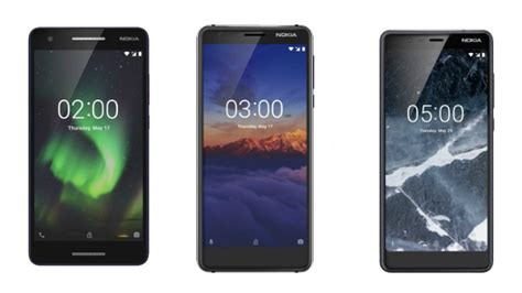 nokia 5 1 nokia 3 1 and nokia 2 1 with updated specs launched