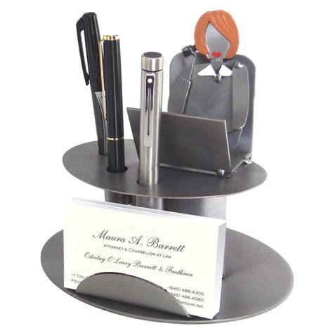 business card holder for desk woman desk accessory female executive business card holder
