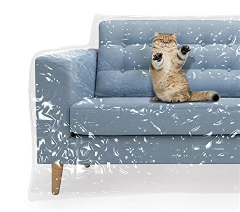 plastic couch cover  pets cat scratching protector