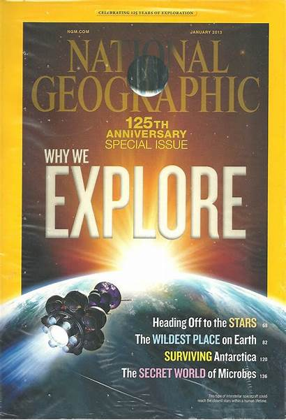Geographic National January Issues