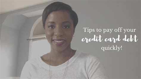 tips    pay   credit card debt quickly