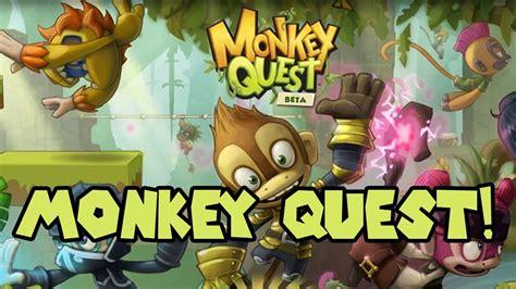 Monkey Quest Game - selfiemyown