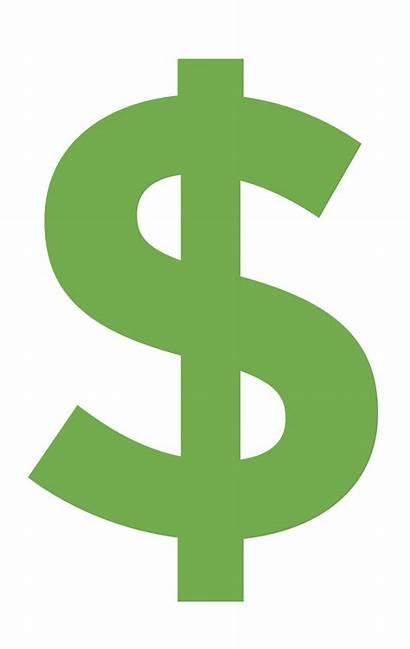 Dollar Sign Icon Trim