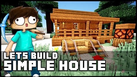 minecraft   build  simple starter house youtube
