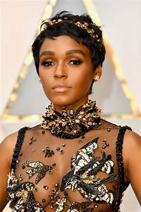 Janelle Monae Ruth Negga In Crowns At 2017 Oscars Pret