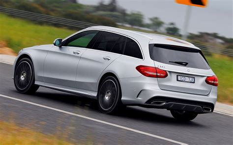 Mercedes C Class Estate Hd Picture by Mercedes C 250 Estate Amg Line 2014 Au Wallpapers And