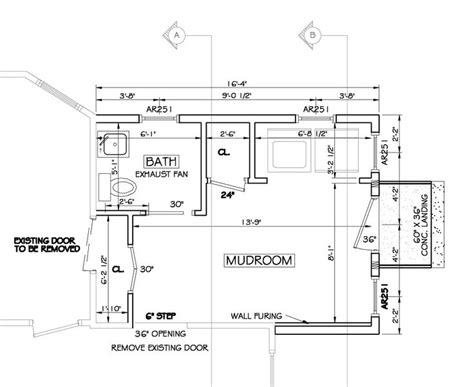 mudroom floor plans awesome 17 images mudroom addition plans architecture plans 56812