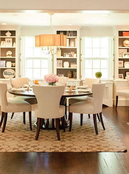 dining room  built ins transitional dining room