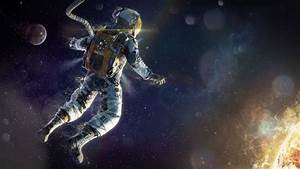 art astronaut space star energy suit HD wallpaper